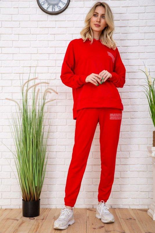 Купить Спорт костюм жен. 129R15115 цвет Красный