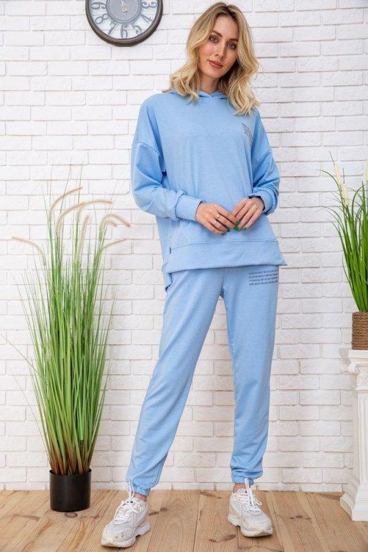 Купить Спорт костюм жен. 129R15115 цвет Голубой