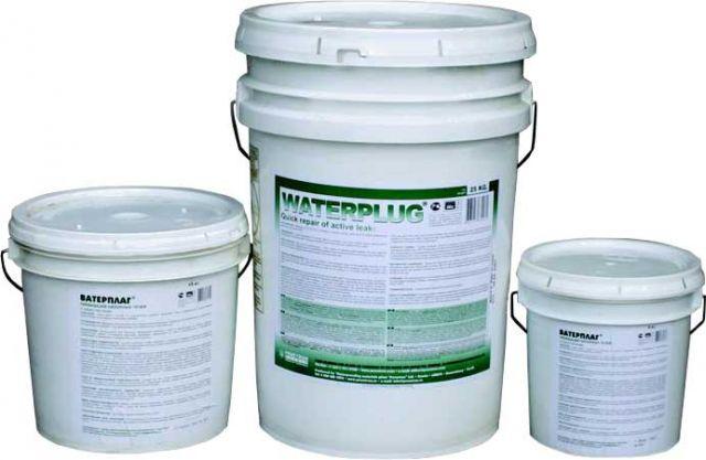 Купить Водоостанавливающий гидроизоляционный материал Ватерплаг для быстрой остановки напорных фонтанирующих течей