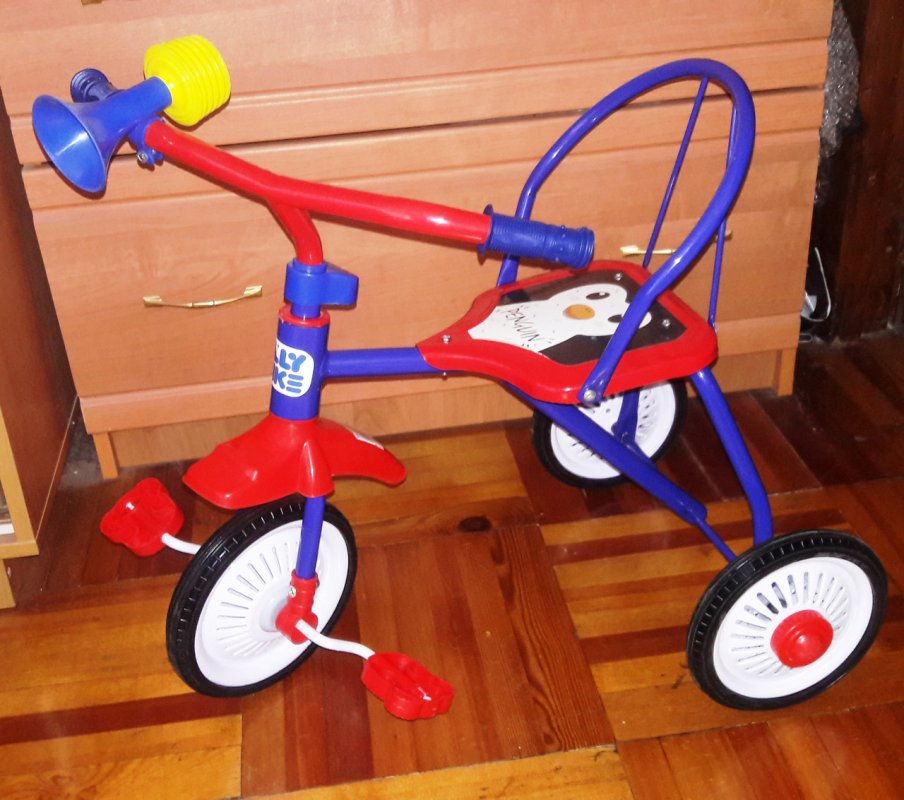 Купить Велосипед детский трехколесный Tilly Trike T-311 Шесть цветов