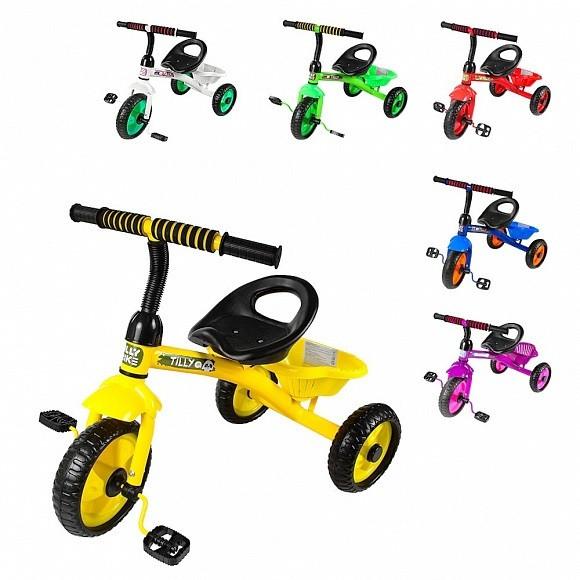 Купить Велосипед трехколесный Tilly Trike T 315 шесть цветов