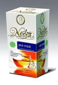 "Чай с бергамотом в пакетиках ТМ  ""NADIN"""