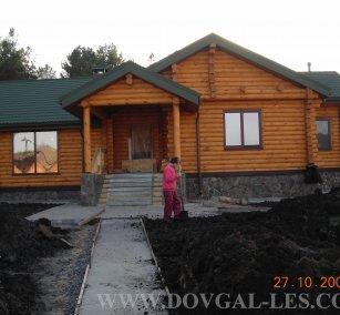 Готовые дома деревянные