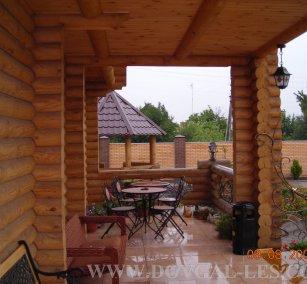 Дома дачные деревянные с верандой