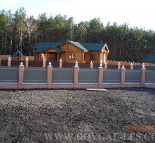 Коттеджи деревянные жилые из бруса