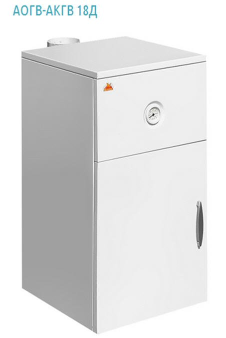 """Buy The gas copper of a series """"Luxury of AKGV 18D """"HELIOS"""" double-circuit with withdrawal of products of combustion through a flue is intended for local water heating of inhabited and service premises and for work in the mode of hot water supply, pr-in TM He"""