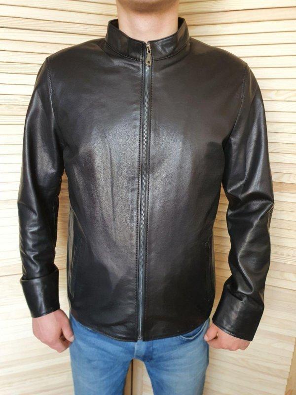 Купить Куртка кожаная мужская из натуральной кожи, косуха, кожанка