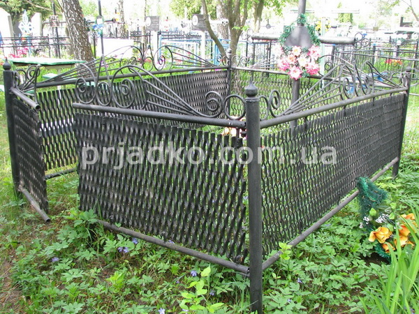 Ограда на могилу заказать недорогие памятники из гранита до 15000