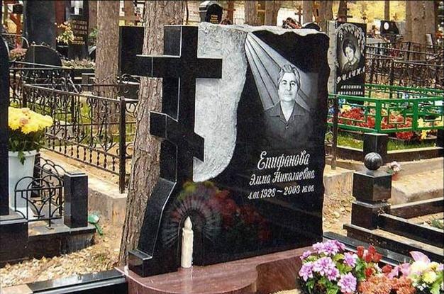 Надгробные памятники с крестом фото подбор памятников Усть-Илимск