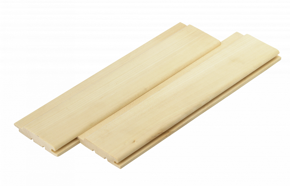 Вагонка липа для саун и бань высший сорт 80х15 мм
