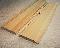Вагонка для сауны и бани липа 80х15 мм, 1 сорт и высший сорт
