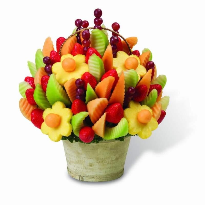 Заказать фркутовый букет в киеве купить цветы в горшках пальмы