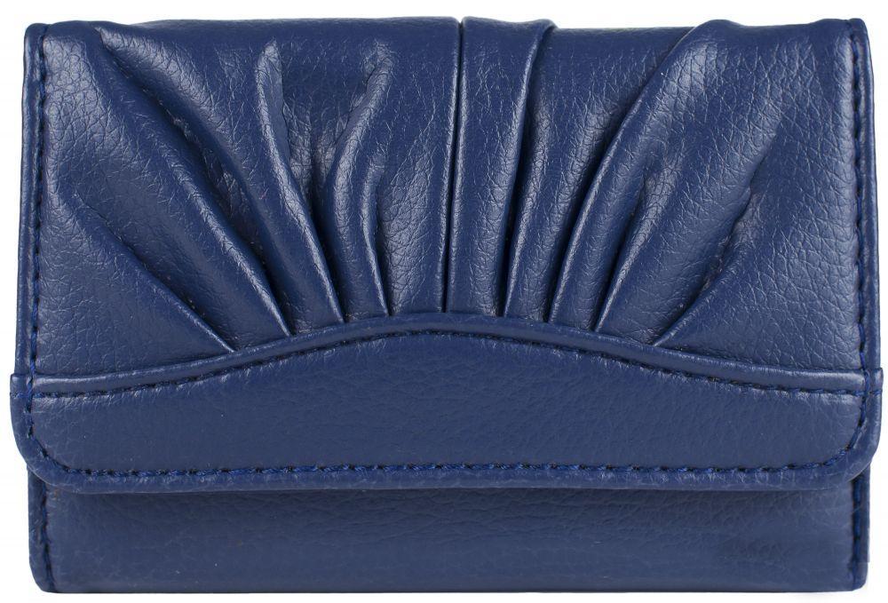 Купить Красивый женский кошелёк синего цвета пр. Польша FF
