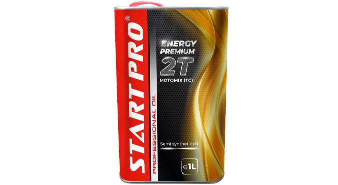Купить Масло для двухтактных двигателей Start Pro п/синт., 1л