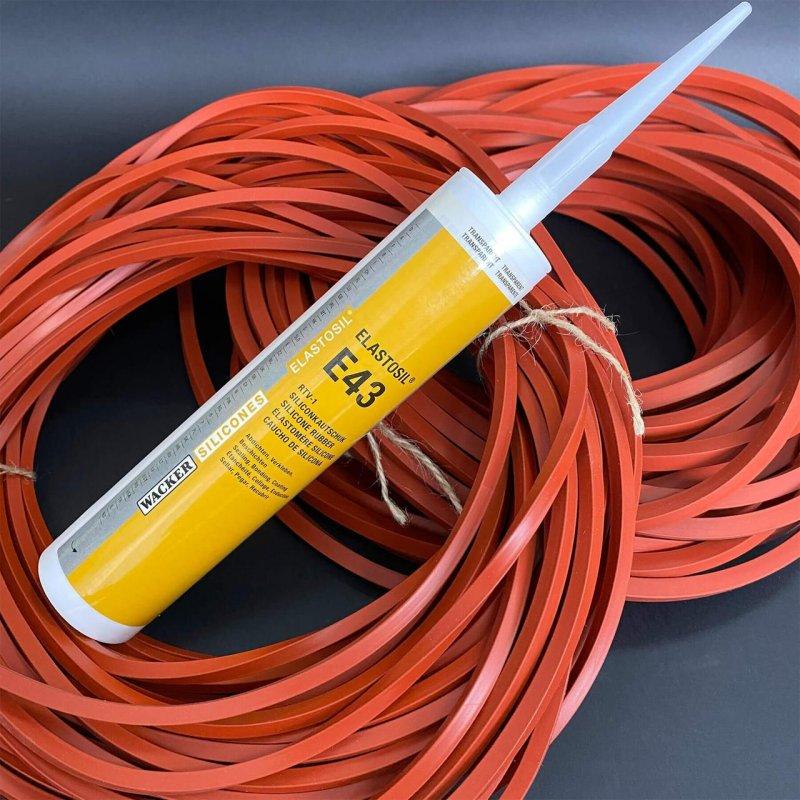 Купить ELASTOSIL® E43 клей для соединения силиконовых изделий