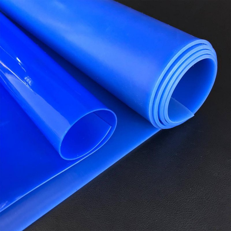 Фторсиликоновая пластина, толщина 1,0 мм, шир.рул. 1000 мм