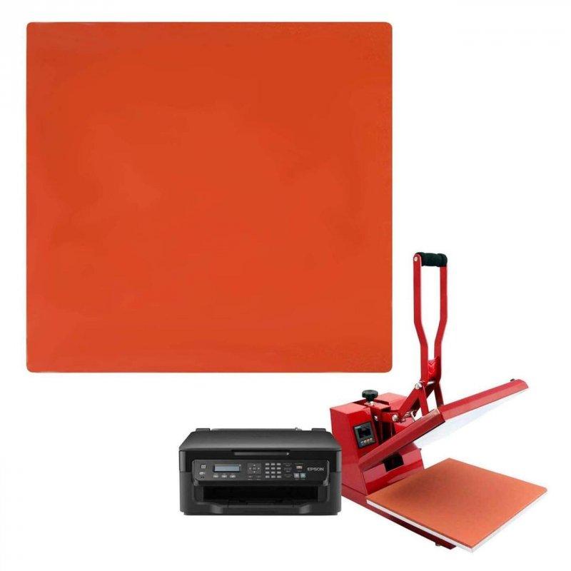 Силиконовый коврик для планшетного термопресса 380х600х12 мм