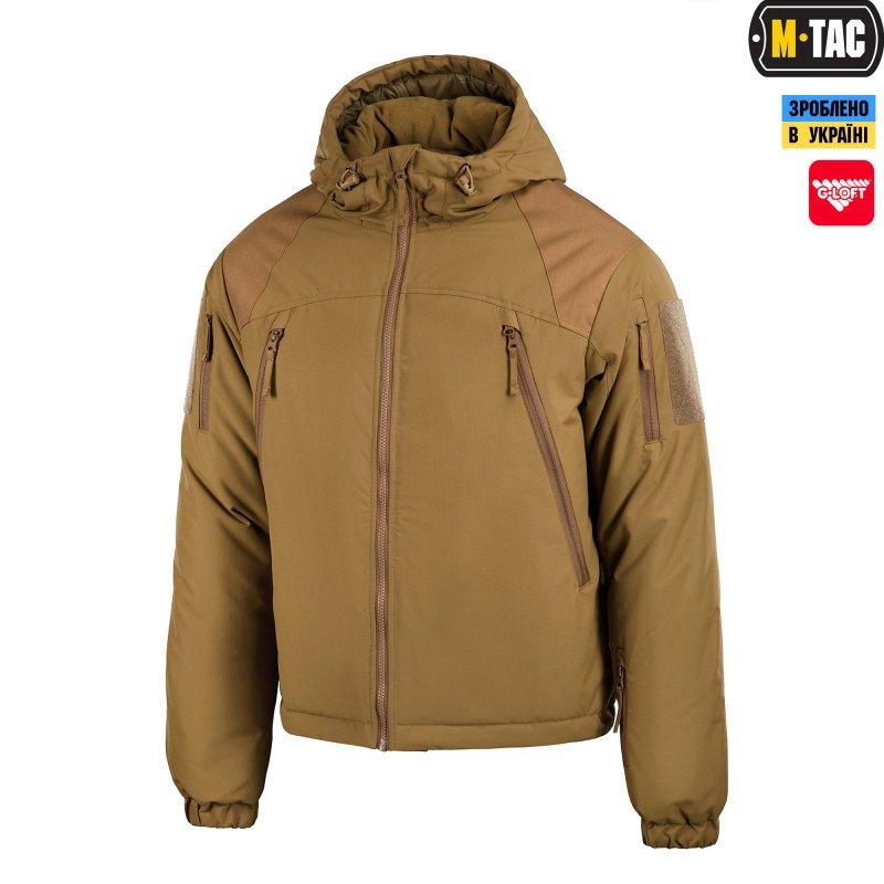 Купить Куртка M-Tac зимняя Alpha GEN.III Coyote Brown
