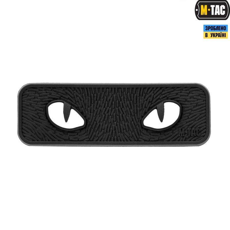 Купить M-TAC НАШИВКА CAT EYES 3D ПВХ BLACK