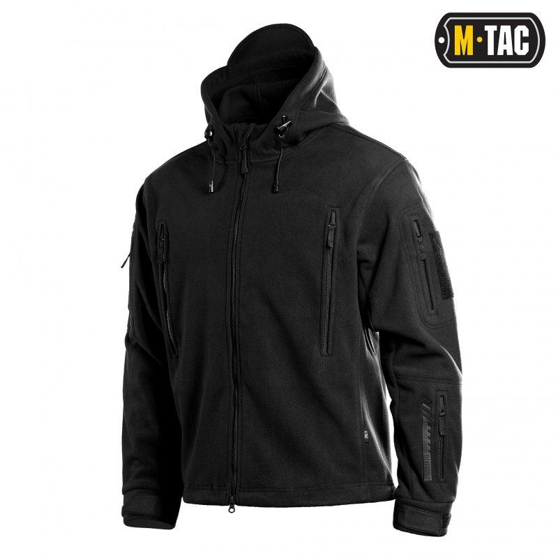 Купить Куртка флисовая M-Tac Windblock Division Gen.II Black