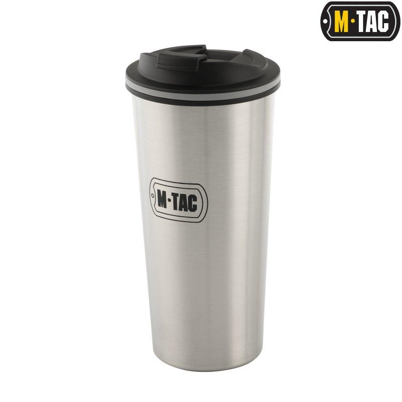 Купить M-Tac термокружка с клапаном 450 мл нерж.
