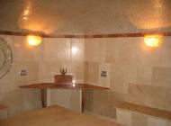 Турецкие бани хамам из мрамора и мозаики