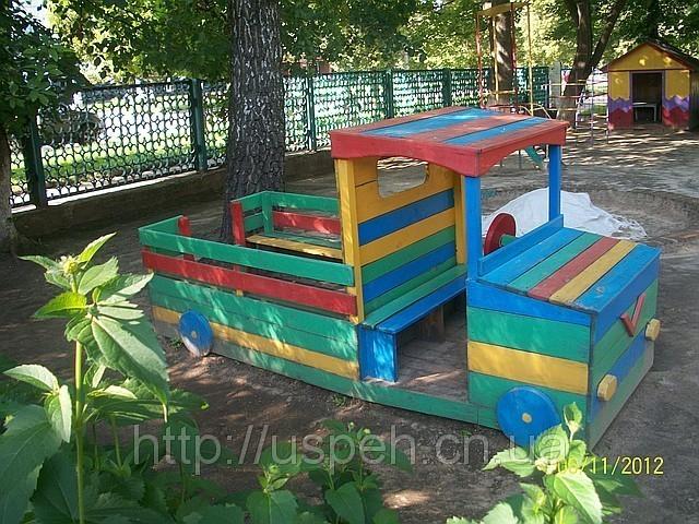 Машина на площадку детского сада своими руками 7
