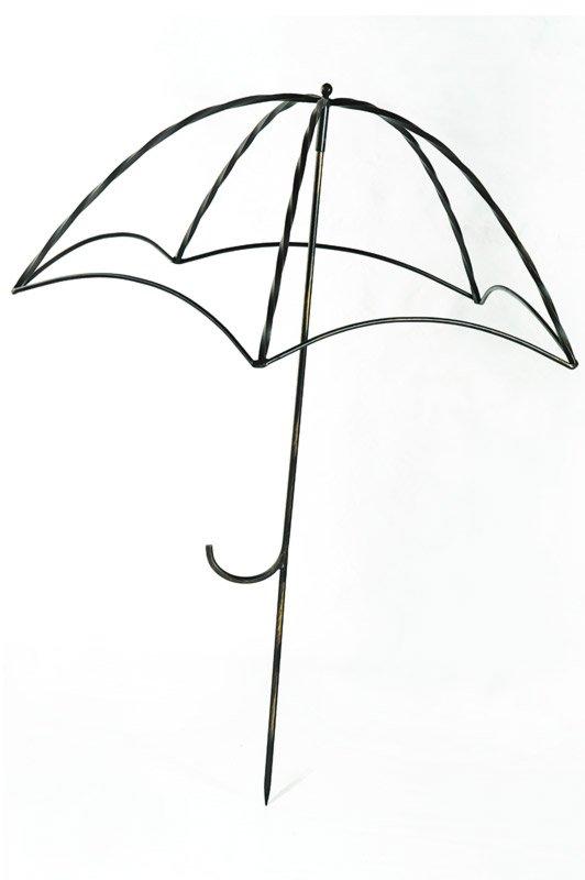 Опора кованая для сада «Зонт» (H max = 1200 mm)