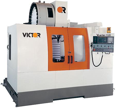 Вертикальный фрезерный обрабатывающий центр с ЧПУ Victor Vcenter-85/102/110/130 Тайвань, с высокой производительностью, для обработки деталей типа корпус, плоских поверхностей, рычагов, фланцев, прессформ
