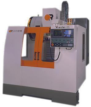 Вертикальный фрезерный обрабатывающий центр с ЧПУ Victor Vcenter-55/70(APC) Тайвань, с возможностью оснащения 2-х паллетной системой, для обработки деталей типа корпус, плоских поверхностей, рычагов, фланцев, прессформ