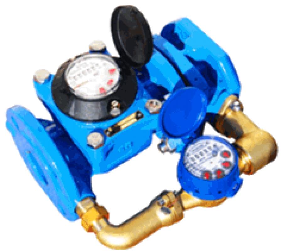 Купить Счетчик воды комбинированный MWN/JS-100/2,5-S Dn100 (ХВ)
