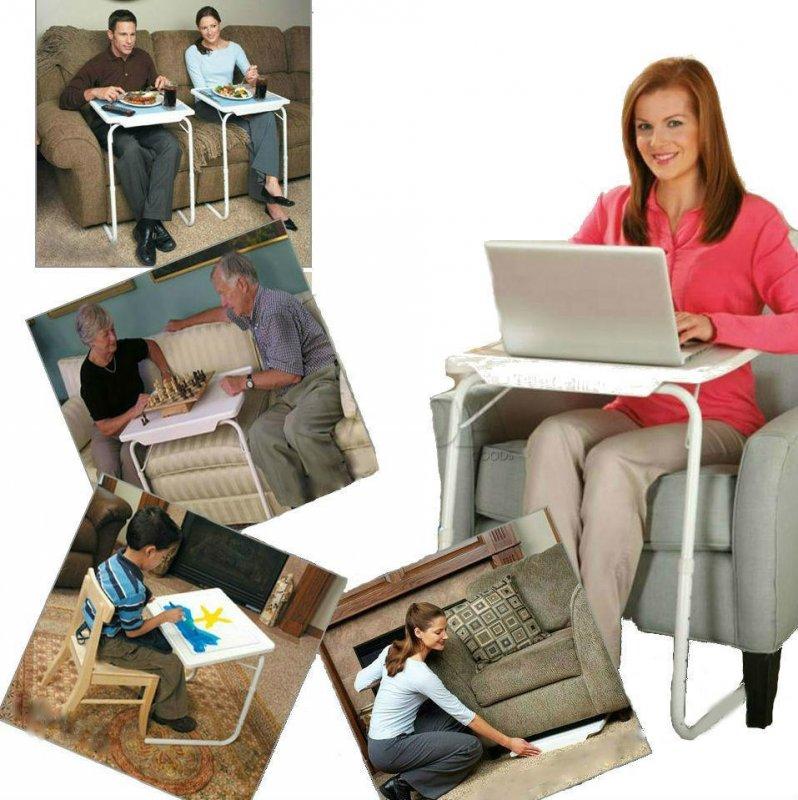 Купить Складной столик для еды и ноутбука Table Mate 2