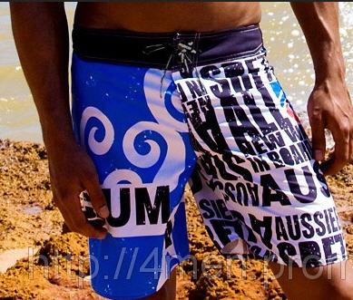 Довгі чоловічі пляжні шорти Aussiebum Surf Shorts Tidal № 04 купити ... b14e39c362328