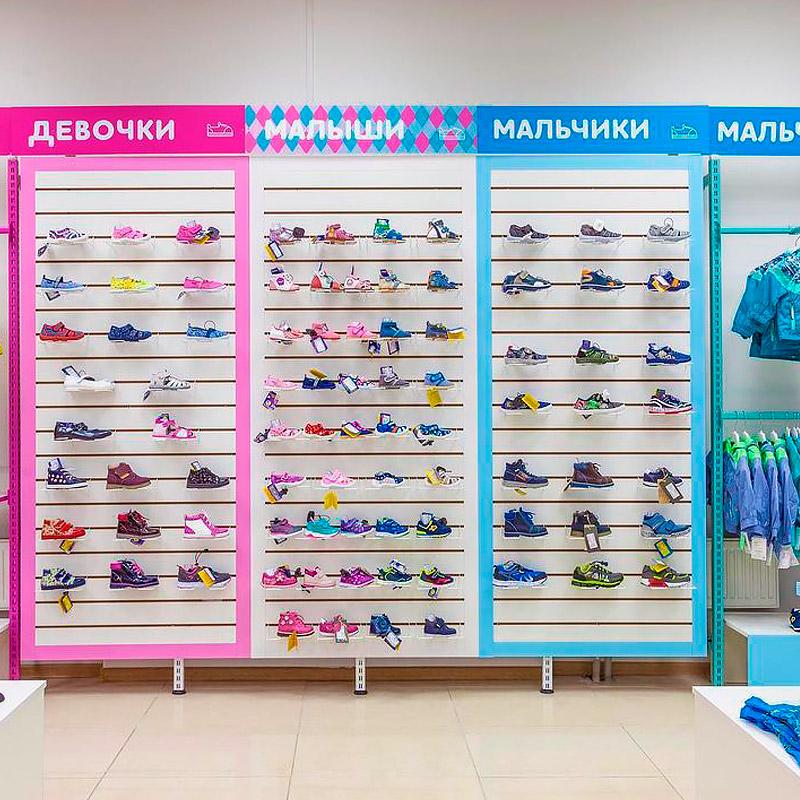 Экономпанели для магазина одежды