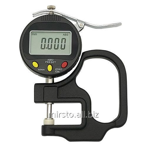 Купить Цифровой индикаторный толщиномер 0-10 мм (0.001мм) PROTESTER 5318-10
