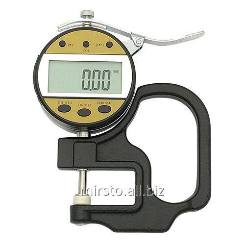 Купить Цифровой индикаторный толщиномер 0-25.4 мм (0.01мм) PROTESTER 5317-25
