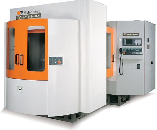 Горизонтальный фрезерный обрабатывающий центр с ЧПУ Victor Vcenter-H500/H500HS Тайвань