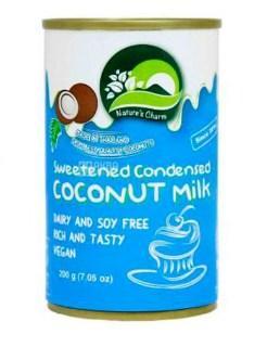 Купить Natures Charm, 200 г, Молоко сгущенное кокосовое, веганское