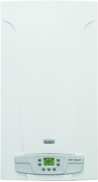 Купить Котел газовый настенный ТМ BAXI Настенный газовый котел с битермическим теплообменником