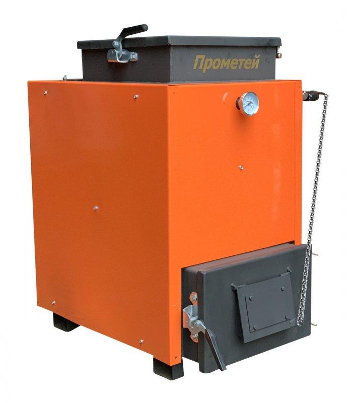 Шахтный котел Прометей ЛЮКС - 10 кВт. Длительного горения!