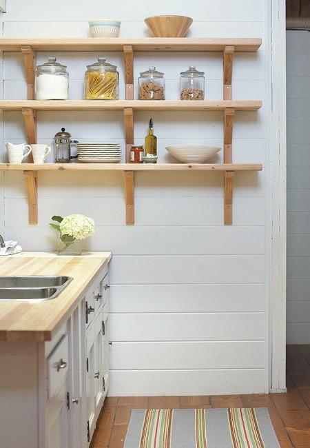 Фото кухонных полочек