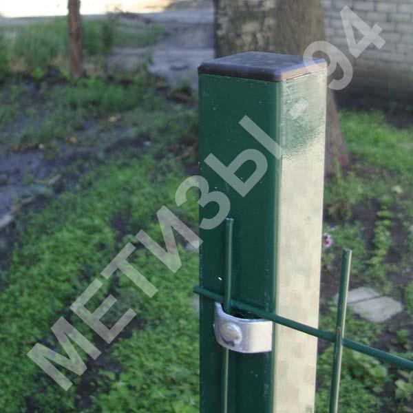 2.0 mm yükseklik 2,0 m galvanizli boru profil kaplı 40h40h çit sonrası