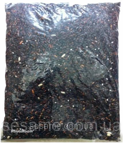 Купить Дикий черный рис, липкий рис 1кг (Вьетнам)