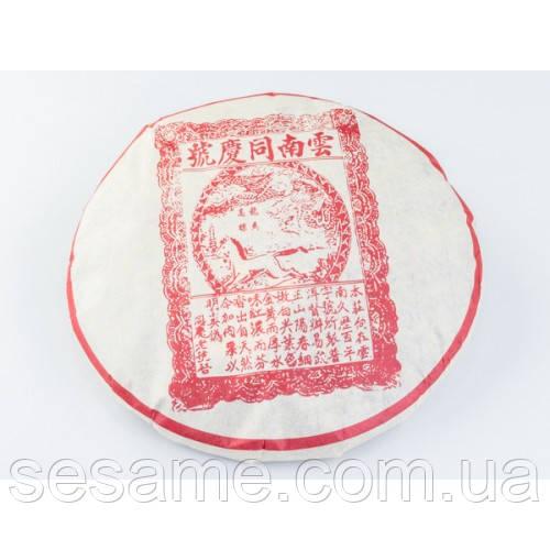 """Купить Чай шу пуэр """"Лошадь и Дракон"""" 357гр. (Китай)"""