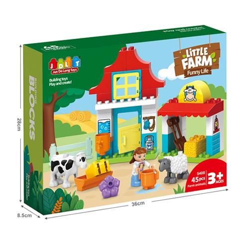 Купить Конструктор JDLT 5408 ферма
