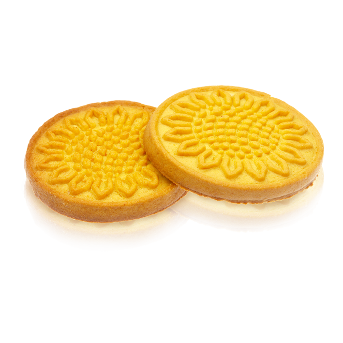 Buy Sugar cookies with sunflower drawing, from the producer Saleks, Ukraine