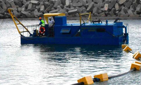 Ecscavator pentru nisip miniere NSS 60/23, 160/30, 400/20, 800/40, 1600/25, 2000/63, 4000/71