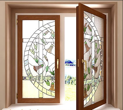 Купить Окна горизонтальные распашные металлопластиковые