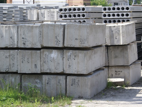 Купить Блоки бетонные для стен подвалов (ГОСТ 13579-78)