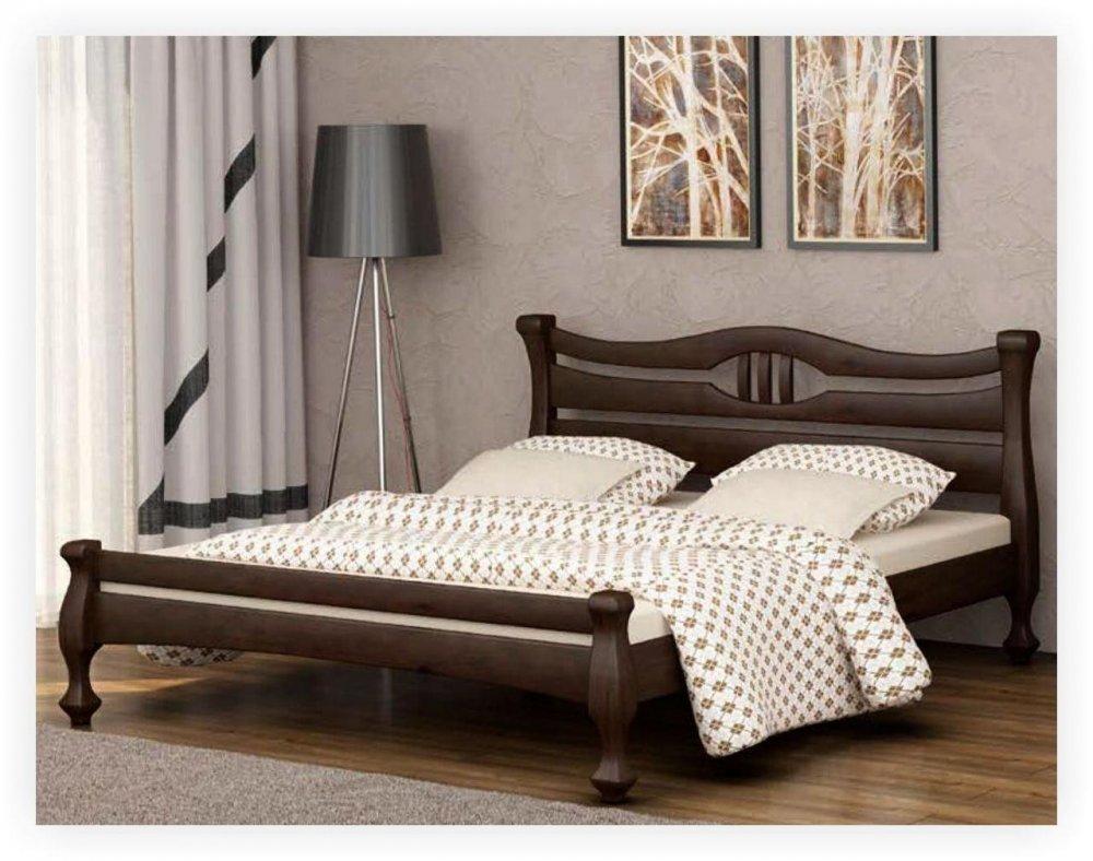 Купить Кровать деревяная без матраса Даллас 80х200 см.